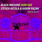 Black Machine / How Gee [Steven Nicola & Karim Razak Remix] - Single width=