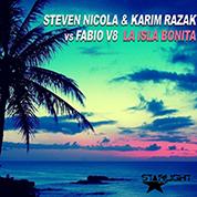 Steven Nicola & Karim Razak Vs Fabio V8 / La Isla Bonita - Single width=